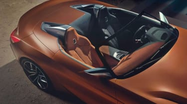 BMW Concept Z4 leaked - above detail