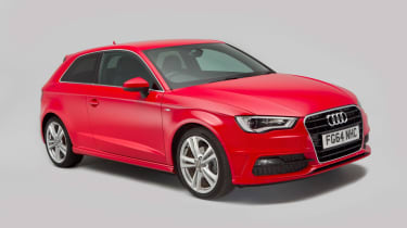 Used Audi A3 Mk3 - front