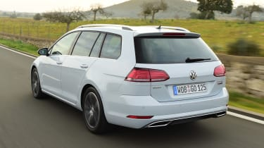 New Volkswagen Golf Estate - rear