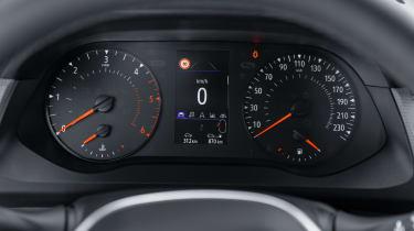 Renault Kangoo Van - dials