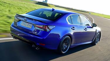 Lexus GS F - rear