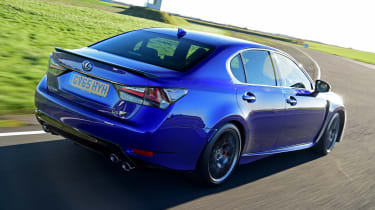 Lexus GS F - rear