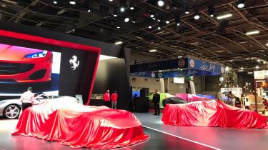 Ferrari stand - 2018 Paris Motor Show