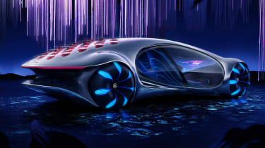 Mercedes Vision AVTR concept - rear