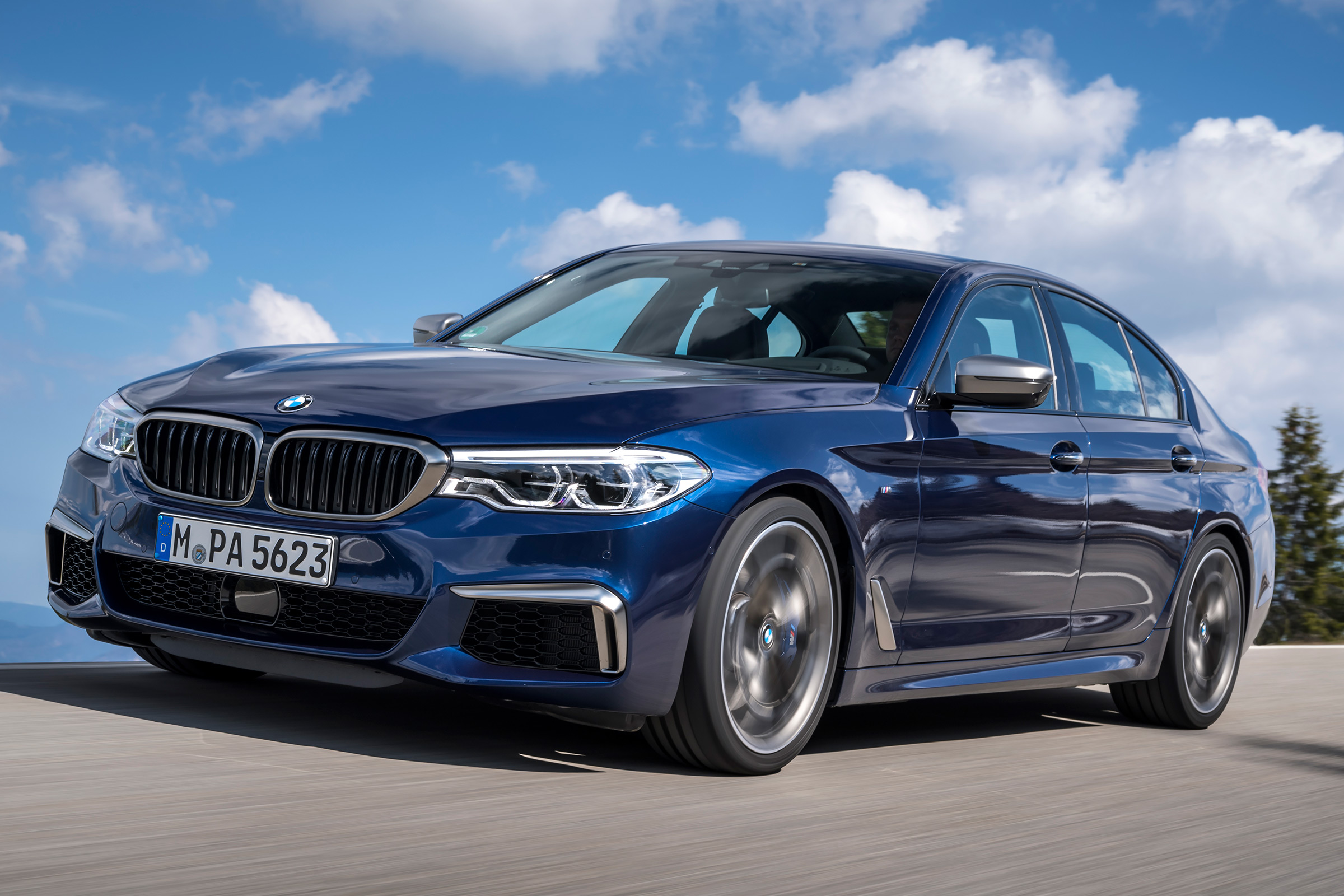 BMW M550i coming to the UK | Auto Express