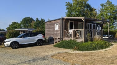 Volvo XC40 Recharge T5 long termer - second report shed