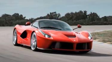 Ferrari LaFerrari - racetrack shot
