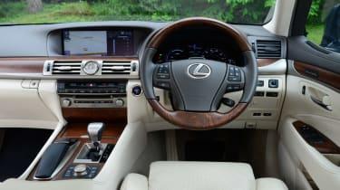 Lexus LS 600h interior wood