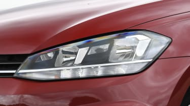 VW Golf headlight