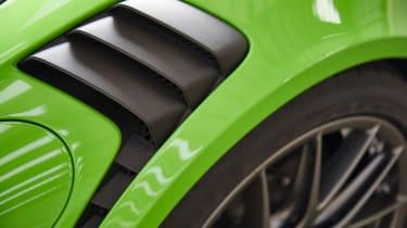 Porsche 911 GT3 RS - vents