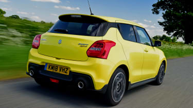 Suzuki Swift Sport - rear