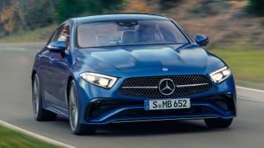 Mercedes CLS - front action