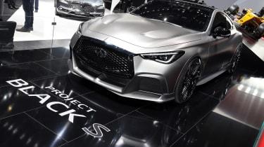 Infiniti Q60 Project Black S Geneva - show