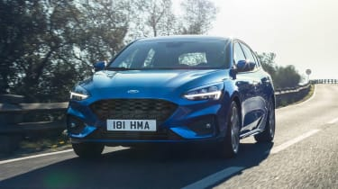 Ford Focus ST-Line - front action