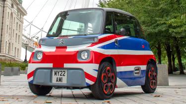 Citroen Ami UK - front static
