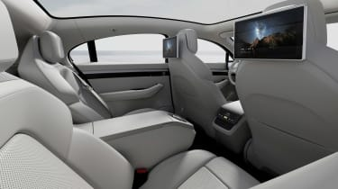 Sony Vision-S concept - rear seats