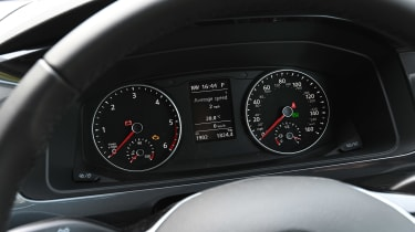 Volkswagen California Ocean long termer - first report dials