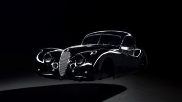 Jaguar XK120 EV - body