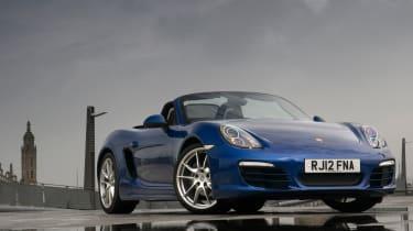 Porsche Boxster - blue front static