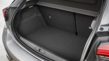 Vauxhall Corsa - boot side