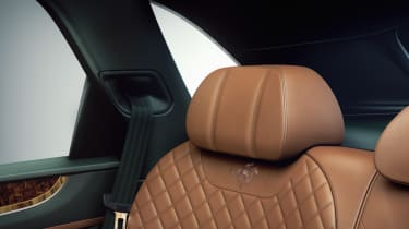 Bentley Bentayga by Mulliner seats