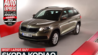 Large SUV of the Year 2017 - Skoda Kodiaq