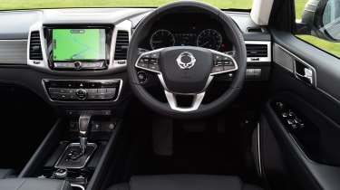 SsangYong Rexton long term - first report dash