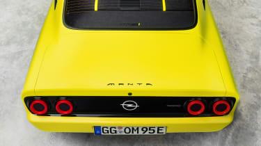 Opel Manta GSe ElektroMOD - rear detail