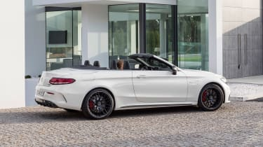 Mercedes-AMG C 63 Cabriolet - rear static