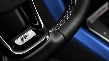 Volkswagen T-Roc R - steering wheel detail studio