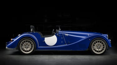 Morgan Plus 8 50th Anniversary Edition - side profile