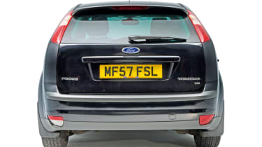 Used Ford Focus rear