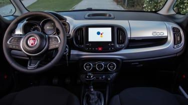 Fiat 500L Google - dash