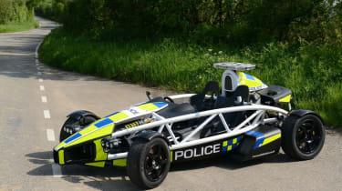 Ariel Atom PL police car static