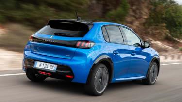 Peugeot e-208 - rear