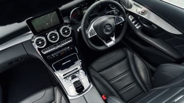 Mercedes C63 AMG saloon - cockpit