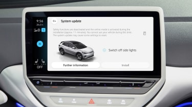 VW ID. over-the-air updates