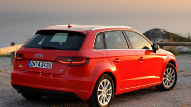 The Audi A3 Sportback is also available as a plug-in hybrid, dubbed e-tron.