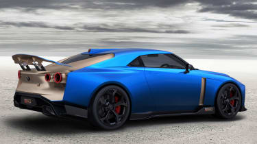 Nissan GT-R50 by Italdesign - rear