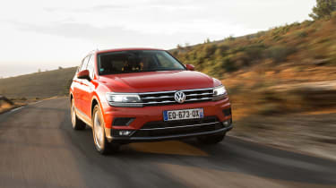 Volkswagen Tiguan Allspace - front tracking