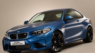 New BMW M2 Coupe front