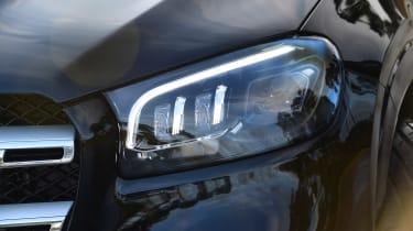 Mercedes GLS - front light