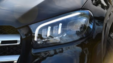 Mercedes GLS - front light