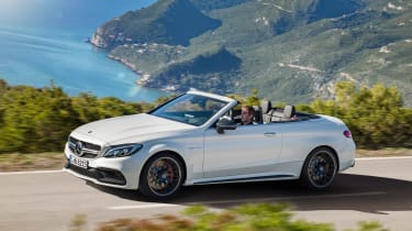 Mercedes-AMG C 63 Cabriolet - side