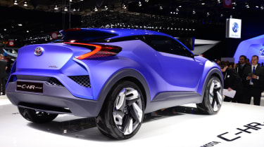 Toyota C-HR Concept rear
