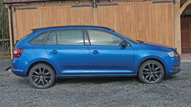 Used Skoda Rapid Spaceback - side