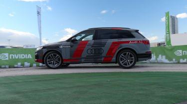 Audi Q7 NVIDIA autonomous car