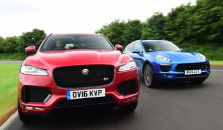 Jaguar F-Pace vs Porsche Macan - header