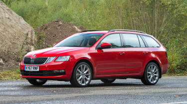 Skoda Octavia Estate 1.5 TSI - front static