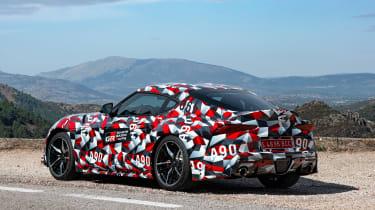 Toyota Supra prototype - rear static
